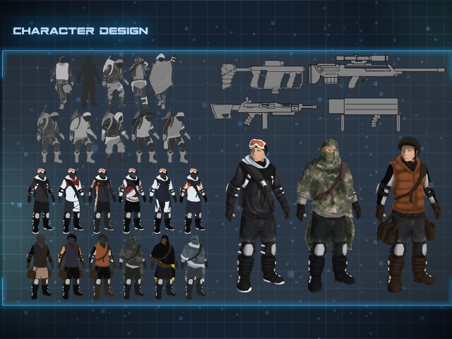 Master's Degree of Art Director in Video Game Design