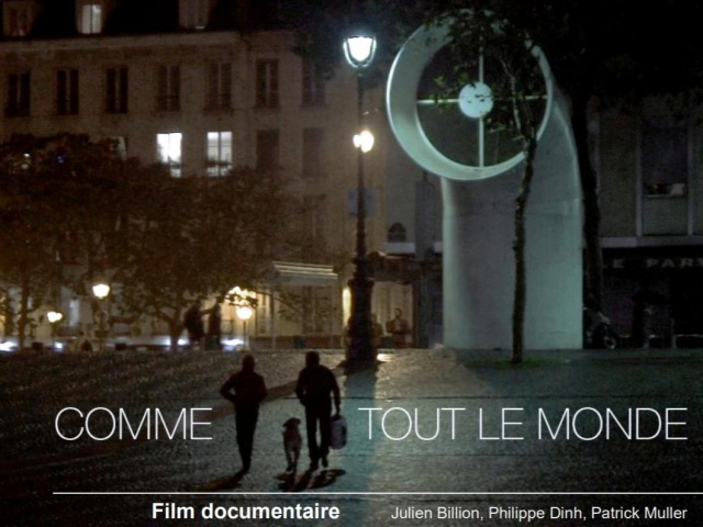 « Comme tout le monde », a documentary by our teacher Philippe Garnier broadcast on LCP