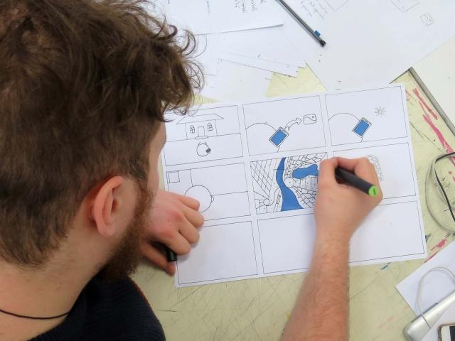 2018 - Open Data - Workshop Bachelor's Degree in Graphic & Digital Design